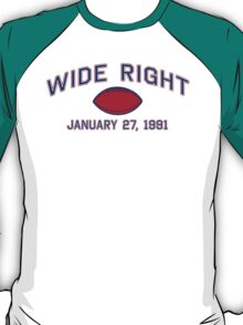 Wide Right T-Shirt