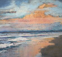 Sussex Inlet - morning sky by Toni Lynch