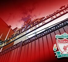 The Shankly Gates - Anfield, Liverpool by Paul Madden