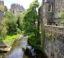 Dean village in Edinburgh by jayview