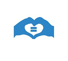 Australian Marriage Equality (Blue Logo) - iPad by Australian Marriage Equality
