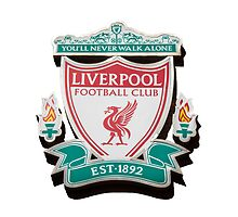 Liverpool FC club crest by Paul Madden