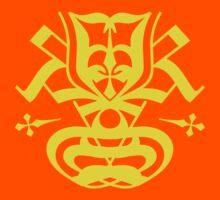 Typo Samurai - Yellow by krakkdskullz