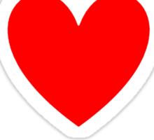 I Heart Jpop Shirt (WHITE) Sticker