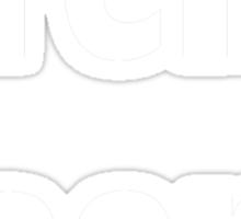 Teh Gaem Shirt (WHITE) Sticker