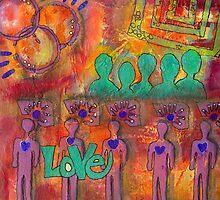 Five Loving Men by © Angela L Walker