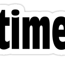 What Time is it? Sticker