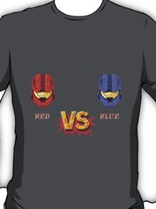 Red Vs Blue, Street Fighter Style T-Shirt