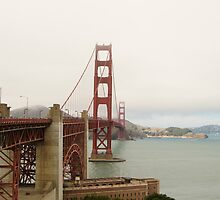 Golden Gate Bridge by photojeanic