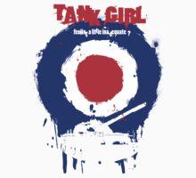"Tank Girl ""Target"" T-Shirt"