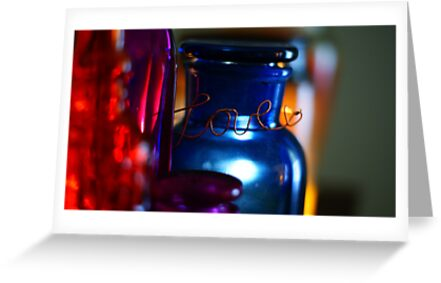 Love...Through Colored Glass by Renee Ellis