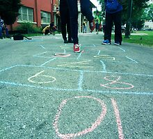 Teen Hopscotch by Kwissyto