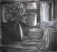 Shadow & Light in Black & White by Karen Gingell