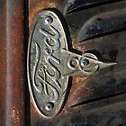 Old Ford Emblem - iPhone Case by HoskingInd