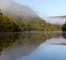 Pieman River - Corinna by Steve Bass