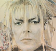 Jareth, the goblin king by Peter Brandt