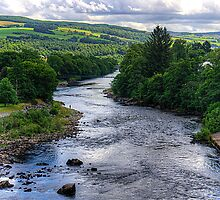 The River Tummel by Tom Gomez