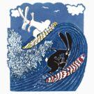 Beach Bunnies the Tshirt by MiMiDesigns