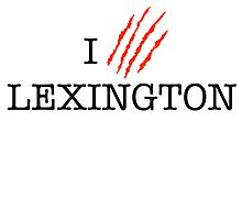 I (CLAW)VE LEXINGTON by omondieu