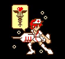 Pixelated Nurse by emodist