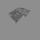 House Stark Worn Grey by Greg Brooks