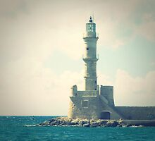 Let there by Light: a Classic lighthouse in Greece by Susan Wellington