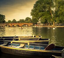 Stratford upon Avon River Scene by StephenRphoto