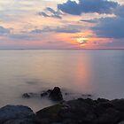 Sandy Hook Sunset by EkaterinaLa