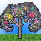 Fractal Tree by wolfepaw