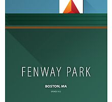Minimalist Fenway Park - Boston by pootpoot