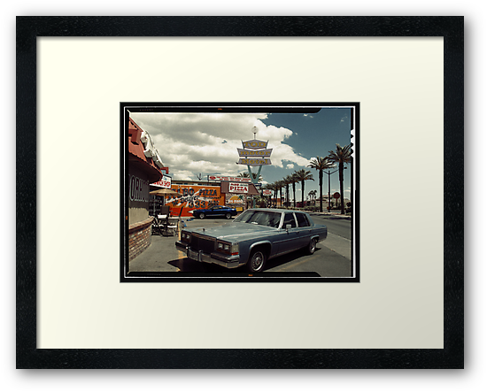 Las Vegas American Landscape in Kodachrome by Reinvention