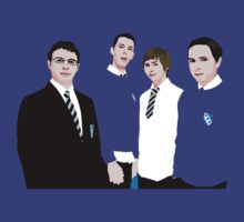 The Inbetweeners by Goldenshot