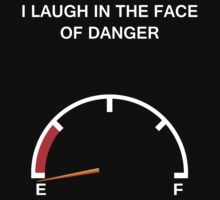 Laughing in the face danger by Saru2012