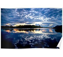Fitzroy Harbour at Sunset - Fitzroy Harbour, ON Poster