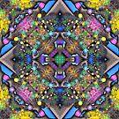 Fractal Tree Kaleidoscope by wolfepaw