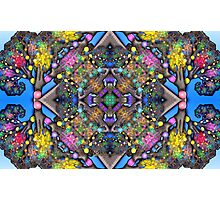 Fractal Tree Kaleidoscope Photographic Print