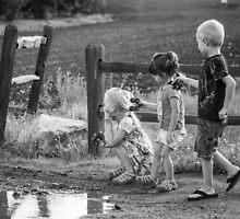 Three Kids Three Kars by Randy Turnbow