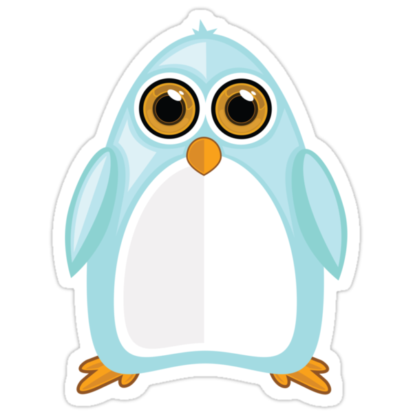 Baby Blue Penguin by Adamzworld