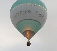 Hot Air Balloon by Antony R James