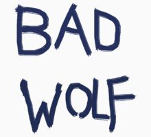 Bad Wolf- Doctor who by salodelyma