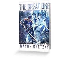 The Great One - Wayne Gretzky Greeting Card