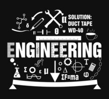 engineering engineer t-shirt by Zed Clarity