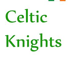 Celtic Knights T-shirt by Pogoshots