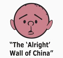 Karl Pilkington - The Alright Wall Of China by KarlPilkington