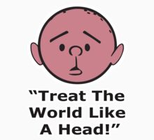 Karl Pilkington - Treat The World Like A Head by KarlPilkington