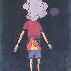 a boy on fire: the movie by sketchnate