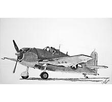 Grumman F6F Hellcat  Photographic Print