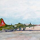 "Thunderbird B17G Boeing ""Flying Fortress"" by Dave Black"