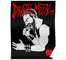 Death Metal Guttural Growl Poster