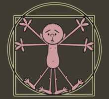 Karl Pilkington - Vitruvian Pilkington by KarlPilkington